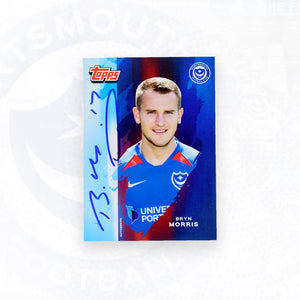 Bryn Morris 2019/20 Signed Topps Card
