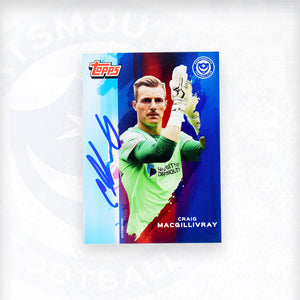Craig MacGilliviray 2019/20 Signed Topps Card