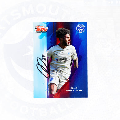 Ellis Harrison 2019/20 Signed Topps Card