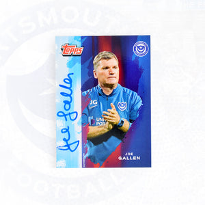Joe Gallen 2019/20 Signed Topps Card