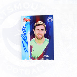 Luke McGee 2019/20 Signed Topps Card