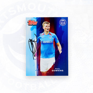 Paul Downing 2019/20 Signed Topps Card