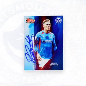 Ronan Curtis 2019/20 Signed Topps Card