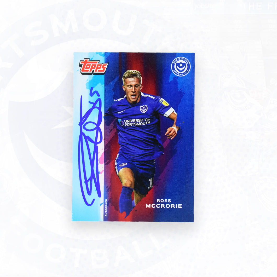 Ross McCrorie 2019/20 Signed Topps Card