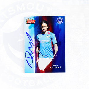 Ryan Williams 2019/20 Signed Topps Card