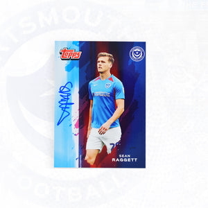 Sean Raggett 2019/20 Signed Topps Card