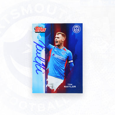 Tom Naylor 2019/20 Signed Topps Card