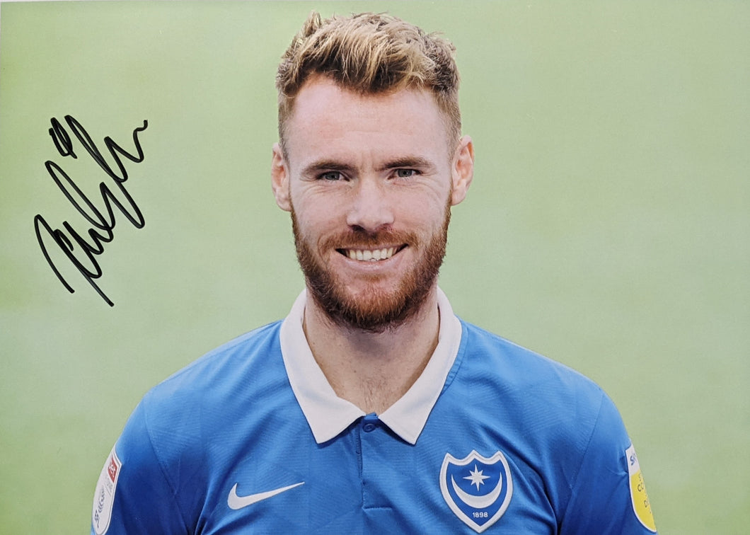 2020/21 Signed Tom Naylor signed Photo