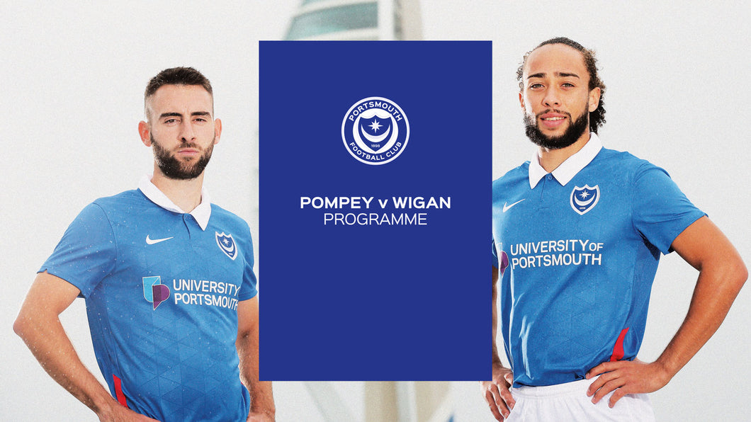 2020/21 Season - Pompey v Wigan Athletic Programme