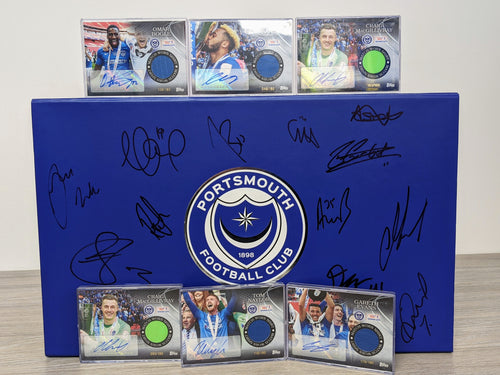 Signed Checkatrade Final Shirt Cards Bundle
