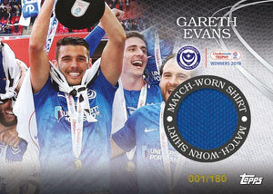 Gareth Evans Topps Collectible Ultimate Pack