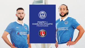2020/21 Season - Pompey v Charlton Athletic  Programme