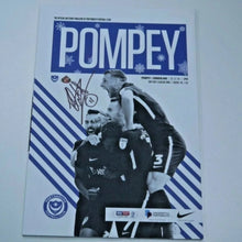 Load image into Gallery viewer, Signed by Ronan Curtis Match Day Programme Vs Sunderland FC