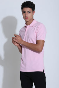 Oliver Barely Pink Pique Men's Polo Tshirt
