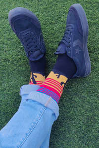 Desert Cactus Colorful Men Socks