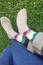 Load image into Gallery viewer, Kansas Argyle Colorful Men Socks