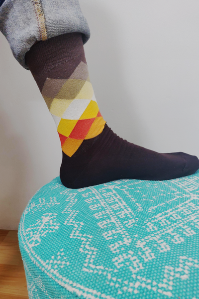 Campbell Argyle Colorful Men Socks