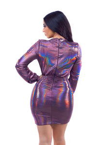 Supernova Dress - Purple