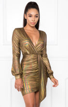 Load image into Gallery viewer, Supernova Dress - Gold