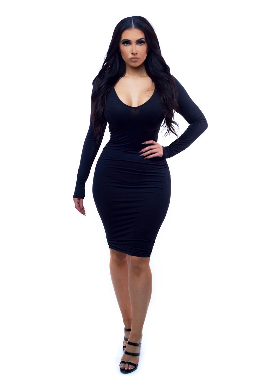 City Girl Dress - Black