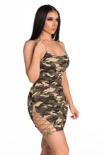 Load image into Gallery viewer, HBIC Dress - Camo