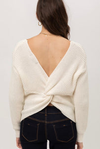 The Autumn Sweater - Ivory