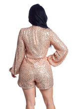 Load image into Gallery viewer, 24 Karat Gold Romper - Rose Gold
