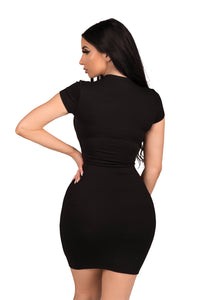 Basic B Dress - Black