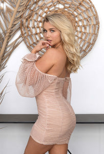 The Kayla Dress - Nude