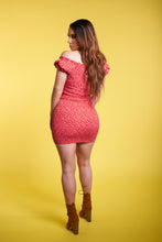 Load image into Gallery viewer, The Karolina Dress - Red/Orange