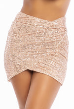 Load image into Gallery viewer, All That Glitters Skirt - Rose Gold
