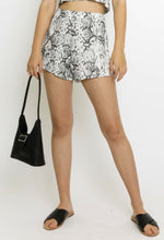 Load image into Gallery viewer, Brunch Bae Shorts - Snakeskin
