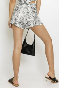 Brunch Bae Shorts - Snakeskin