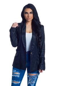 The Ashley Blazer - Black