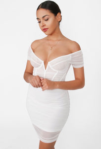 The Date Night Dress - White