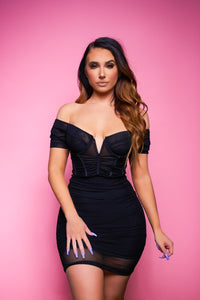 The Date Night Dress - Black