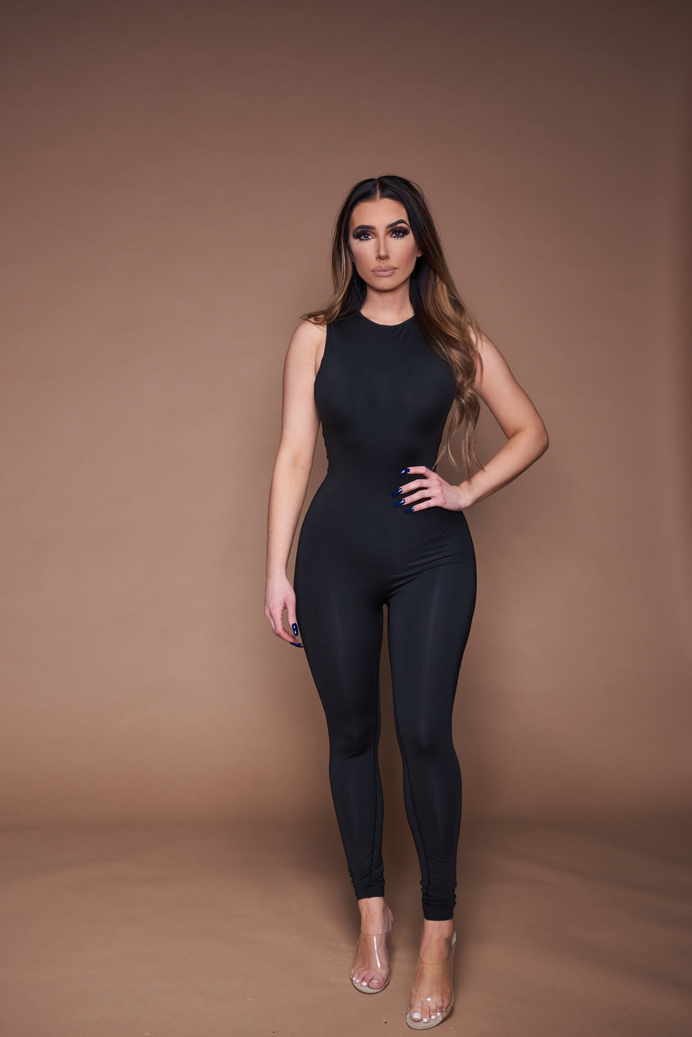 The Kendall Jumpsuit - Black