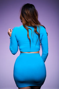The Butterfly Dress - Turquoise