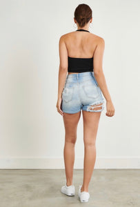 Sunset Lover Shorts - Denim