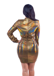 Supernova Dress - Gold