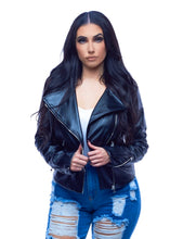 Load image into Gallery viewer, Lets Hangout - Fringe Detail Leather Jacket
