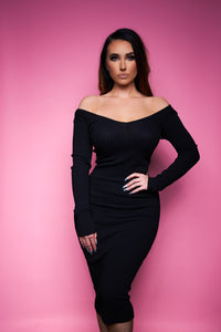 The Ellie Dress - Black