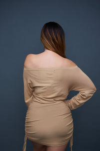 The Chloe Dress - Tan