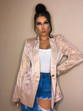 Load image into Gallery viewer, The Ashley Blazer - Champagne