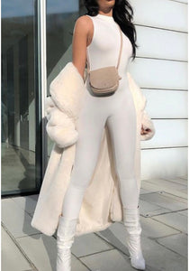 The Kendall Jumpsuit - White