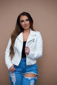 Winter In The City Jacket - White