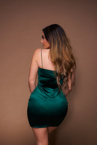 She's A Gem Dress - Emerald