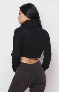 Fallin' For You Sweater - Black