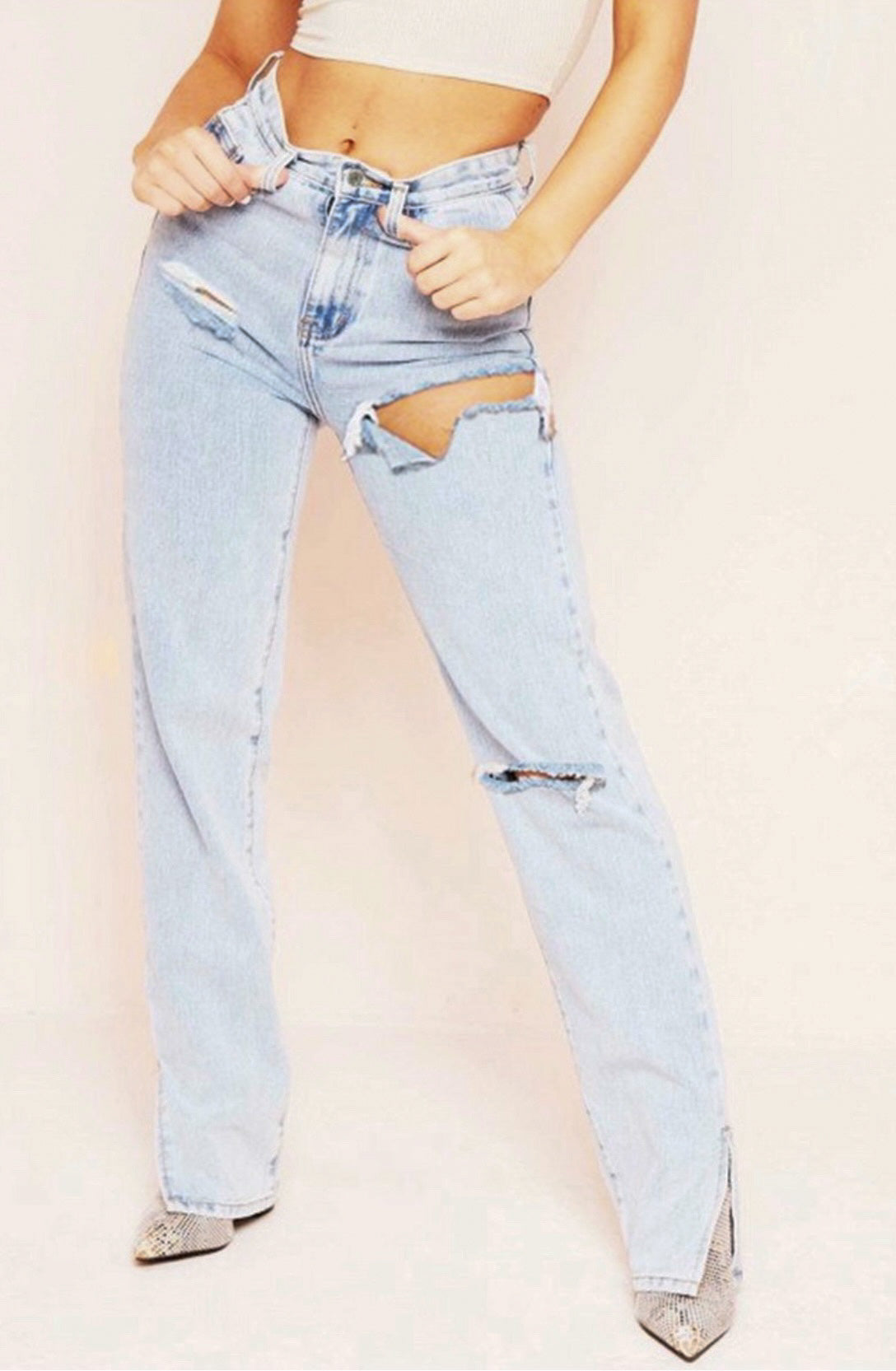 Cali Baby Jeans - Light Wash