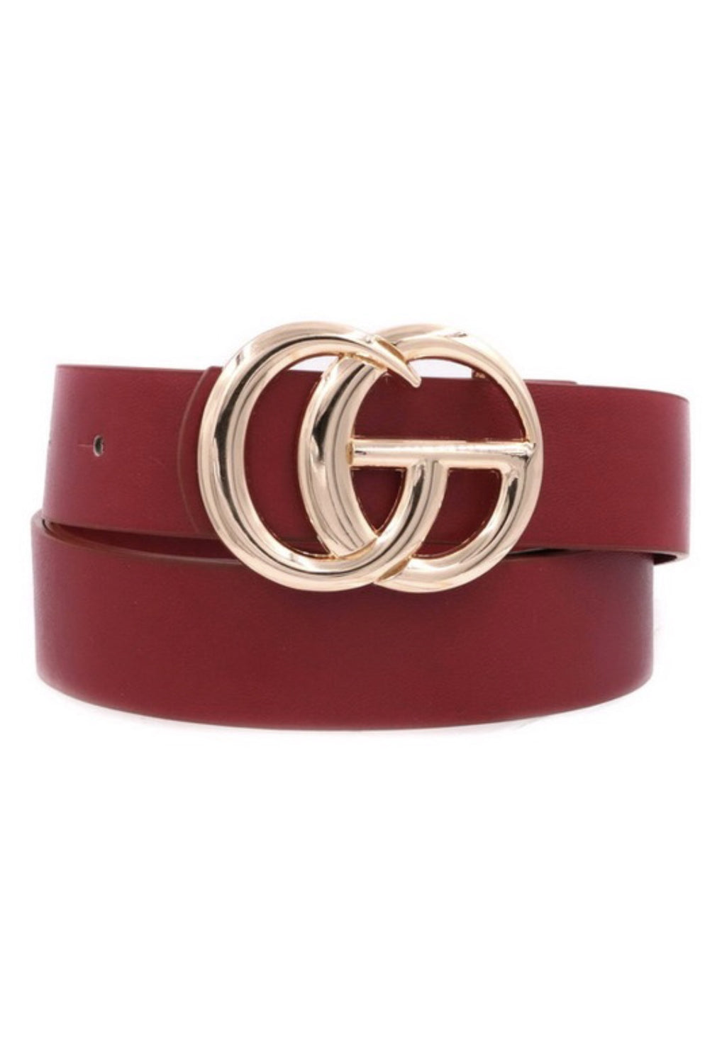 Snatched Belt - Burgundy